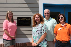 Dedication of The Aurora School's Building G to Butch Miller