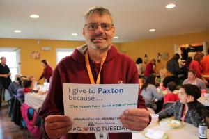 Robert #GivingTuesday #WeArePaxton