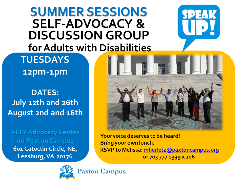 Speak Up Summer 2016