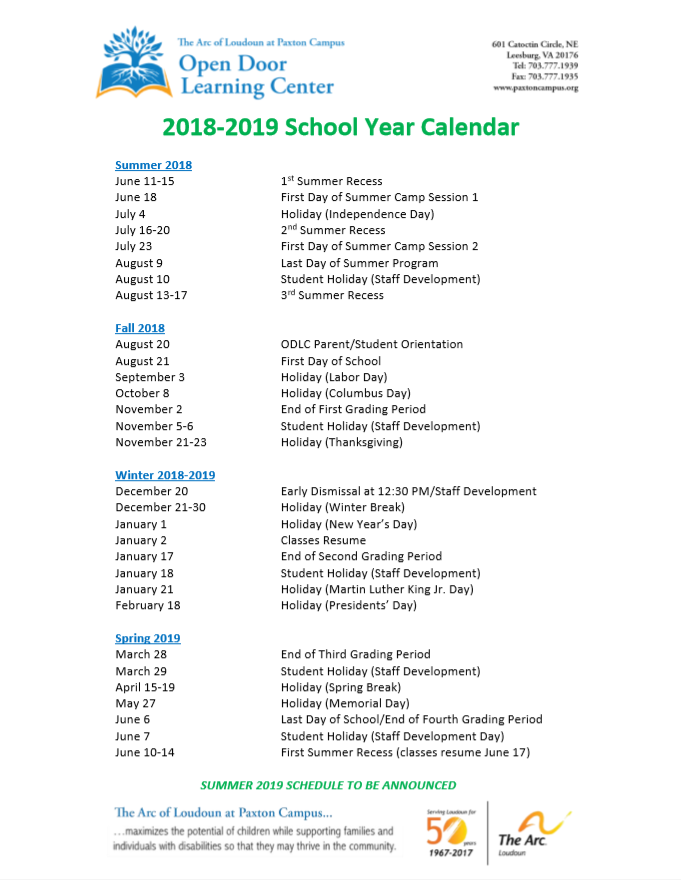 odlc-preschool-calendar